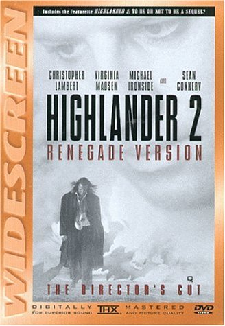 Highlander 2 Renegade Version Lambert Connery Madsen Clr Cc Ac3 Thx Ws R Director's Cut