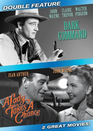 Dark Command Lady Takes A Chan Wayne John Clr Nr 2 DVD