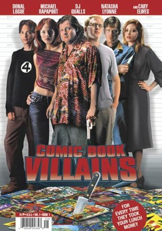 Comic Book Villains Logue Rapaport Qualls Lyonne E Clr Cc 5.1 Ws Spa Sub R