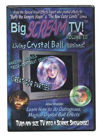 Vol. 3 Big Scream Tv Living Crystal Ball Illusions
