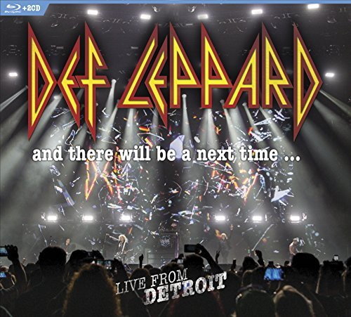 Def Leppard And There Will Be A Next Time…live From Detroit 2 CD Blu Ray Combo