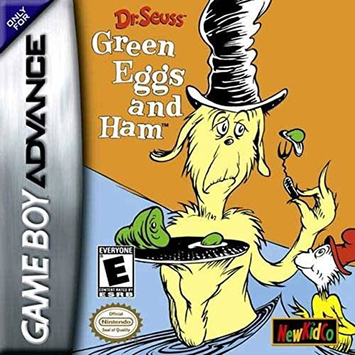 Gba Dr Seuss Green Eggs & Ham