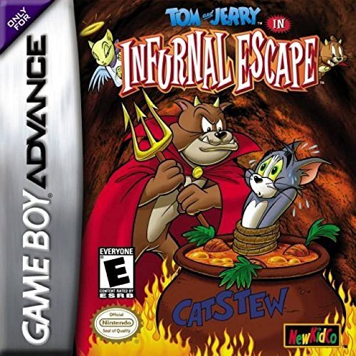 Gba Tom & Jerry Internal Escape