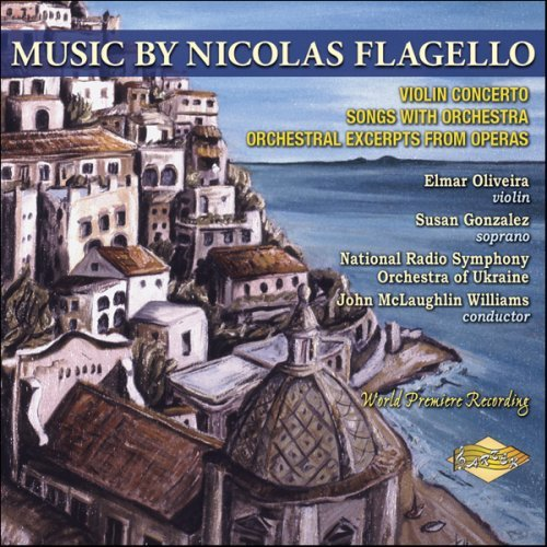 N. Flagello Music By Nicolas Flagello Williams National Rso Of Ukrai