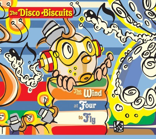 Disco Biscuits Wind At Four To Fly 2 CD Set Digipak