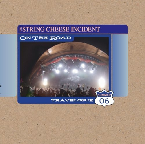 String Cheese Incident Travelogue 2006 On The Road 3 CD