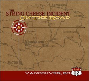 String Cheese Incident October 17 2002 Vancouver Cana 3 CD Set