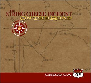 String Cheese Incident October 24 2002 Chico Ca On Th 3 CD Set