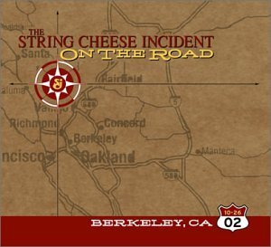 String Cheese Incident October 26 2002 Berkeley Ca On 3 CD Set