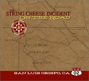 String Cheese Incident October 28 2002 San Luis Obisp 3 CD Set