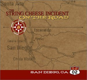 String Cheese Incident October 29 2002 San Diego Ca O 3 CD Set