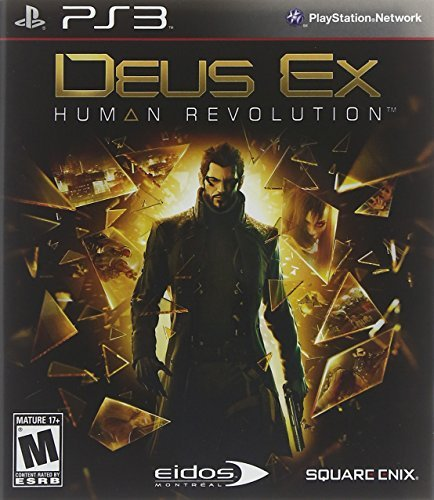 Ps3 Deus Ex Human Revolution Square Enix Llc M