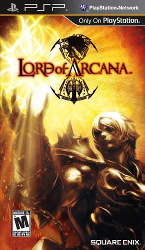 Psp Lord Of Arcana Square Enix Llc T