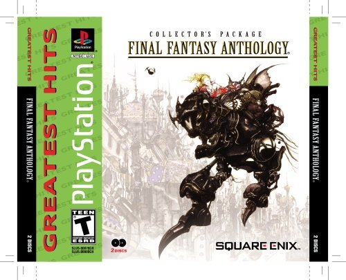 Psx Final Fantasy Anthology T
