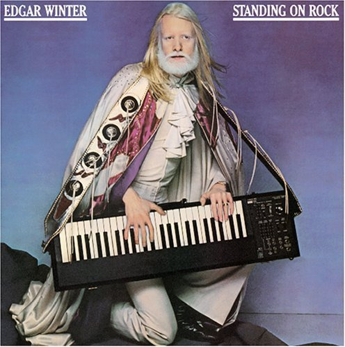Edgar Winter Standing On Rock