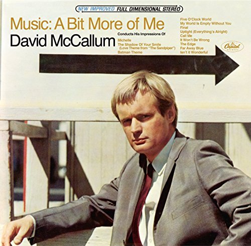 David Mccallum Music A Bit More Of Me