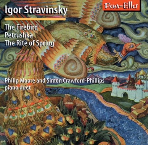 Igor Stravinsky Stravinsky The Firebird Moore (pno) Crawford Phillips