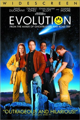 Evolution Duchovny Jones Moore Scott DVD Pg13