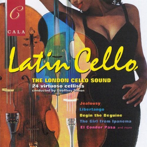 Latin Cello Latin Cello Jobim Villa Lobos Cervantes &