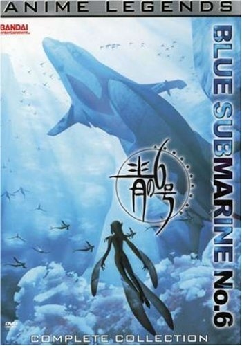 Blue Submarine No. 6 Anime Legends Complete Collect Clr Jpn Lng Eng Dub Sub Nr