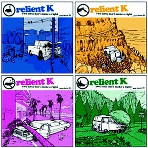 Relient K Two Left's Don't Make A Right Enhanced CD