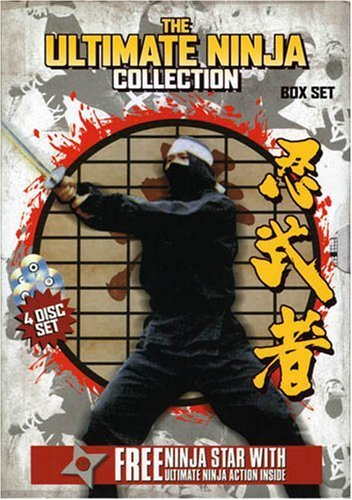 Ultimate Ninja Collection 1 3 Ultimate Ninja Collection Clr 4 DVD Set