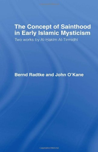 Bernd Radtke The Concept Of Sainthood In Early Islamic Mysticis Two Works By Al Hakim Al Tirmidhi