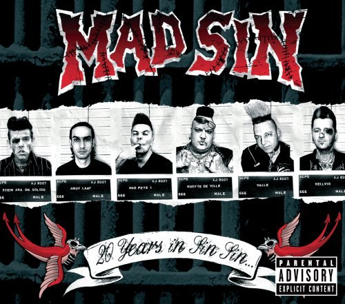 Mad Sin 20 Years In Sin Sin Explicit Version 2 CD