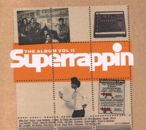 Superrappin Artists Superrappin Artists Thrust 5 Deez Fat Jon J.Live 2 CD Set