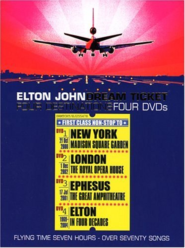 Elton John Dream Ticket 4 DVD Set