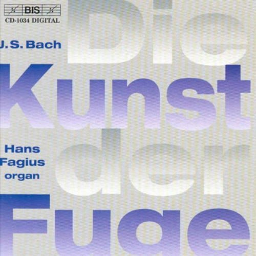 J.S. Bach Art Of The Fugue Fagius*hans (org)