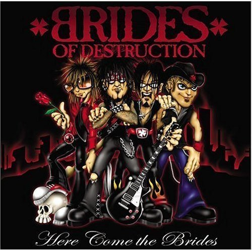 Brides Of Destruction Here Come The Brides Dualdisc