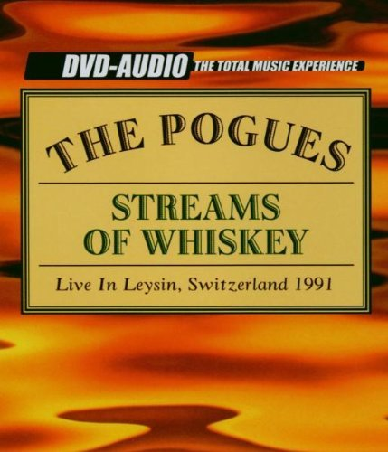 Pogues Streams Of Whiskey DVD Audio