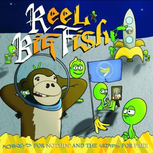 Reel Big Fish Monkeys For Nothin Explicit Version Incl. DVD