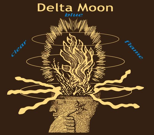 Delta Moon Clear Blue Flame