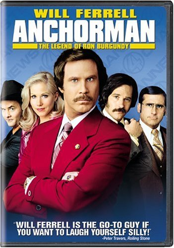 Anchorman Legend Of Ron Burgu Ferrell Applegate Rudd Willard Nr
