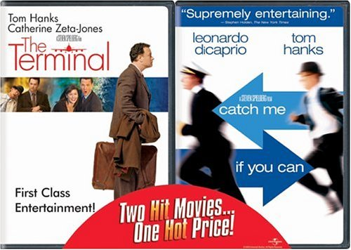 Terminal Catch Me If You Can Universal 2pak Clr Belly Band Pg13 2 DVD