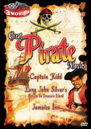 Captain Kidd Long John Silvers Great Pirate Movies Clr Bw Nr