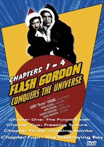Ch. 1 4 Conquers The Universe Flash Gordon Bw Nr