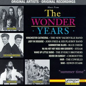 Wonder Years Wonder Years Summer Time Everly Brothers Cowsills Starr Wonder Years