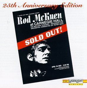 Rod Mckuen At Carnegie Hall