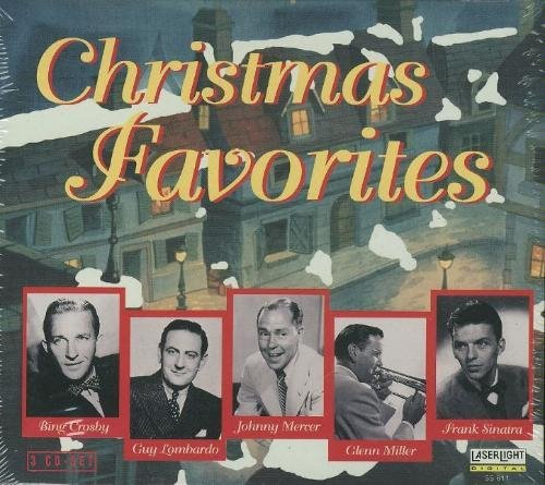 Christmas Favorites Christmas Favorites Crosby Brown Krupa Lombardo 3 CD Set