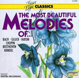 Most Beautiful Melodies Of Cla Most Beautiful Melodies Of Bach Haydn Gluck Beethoven Chopin Handel