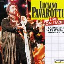 Luciano Pavarotti Live On Stage Pavarotti Jacopucci Scotto &