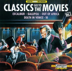 Classics Go To The Movies Vol. 2 Kovacs Lazzaretti Servile Kegel & Fischer & Rolla Variou