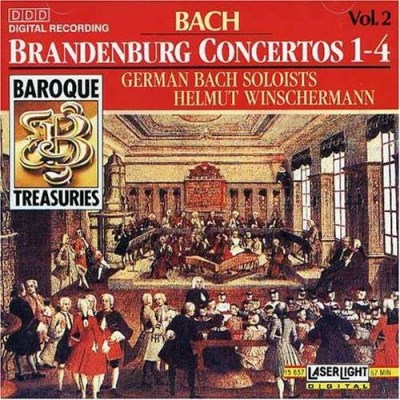 J.S. Bach Brandenburg Con 1 4 Winschermann German Bach Solo