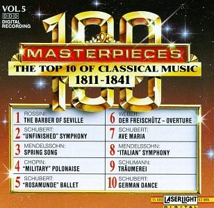 100 Masterpieces Vol. 5 Top Ten Of 1811 1841 Czerny Stefanska*halina (pno) Sandor & Raychev & Kovacs Vari