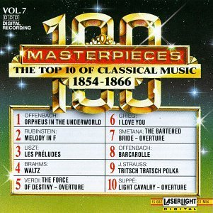 100 Masterpieces Vol. 7 Top Ten Of 1854 1866 Steinberg & Ahronovitch Var
