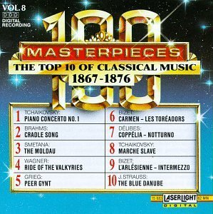 100 Masterpieces Vol. 8 Top Ten Of 1867 1876 Tchaikovsky Brahms Smetana Wagner Bizet Strauss Grieg