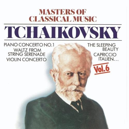 P.I. Tchaikovsky Masters Of Classical Music Jando (pno) Verhey (vn) Ligeti & Wohlert & Joo Various